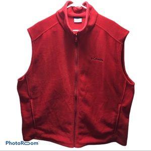 Men's NWOT Columbia fleece vest